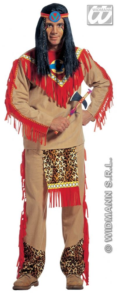 Sitting Bull Red Indian Costumeindian Costume Men S